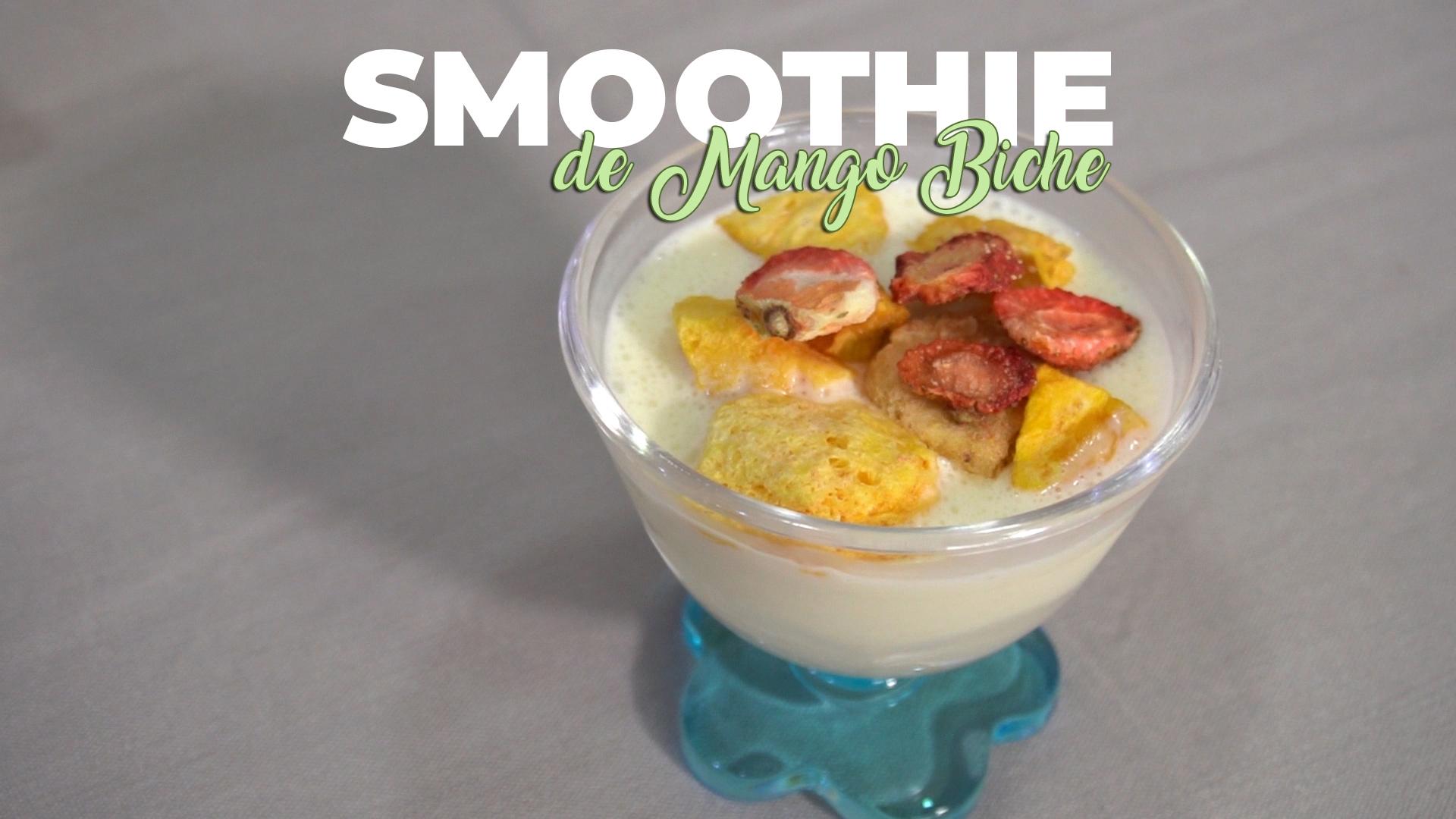 Receta fácil de Smoothie de Mango Biche