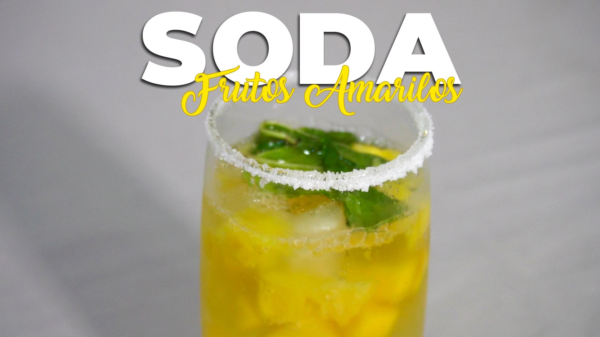 Soda de Frutos Amarillos