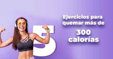 5 ejercicios para quemar más de 300 calorías en 30 minutos